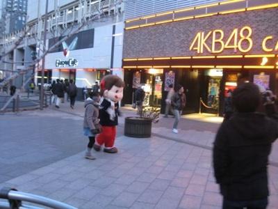 AKB48カフェにも出没
