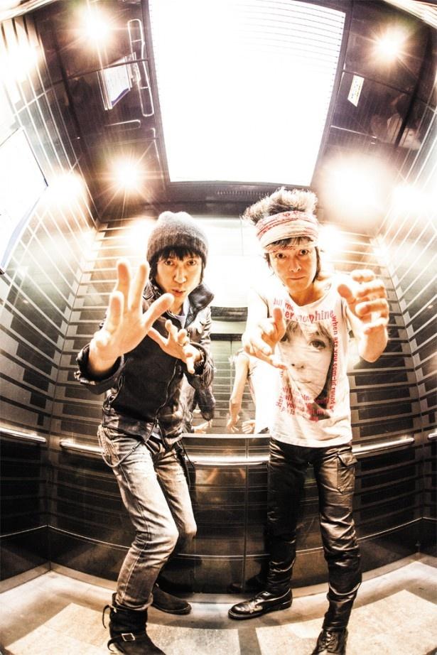 甲本ヒロト(左)&真島昌利(右)