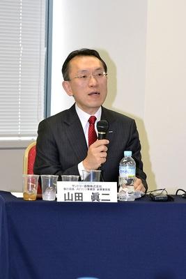 サントリー酒類スピリッツ事業部の山田眞二副事業部長