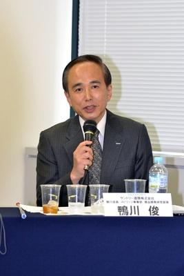 サントリー酒類商品開発研究部の鴨川俊部長