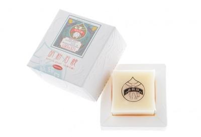 天然原料を使用した高級手作り石鹸「胡粉石鹸」