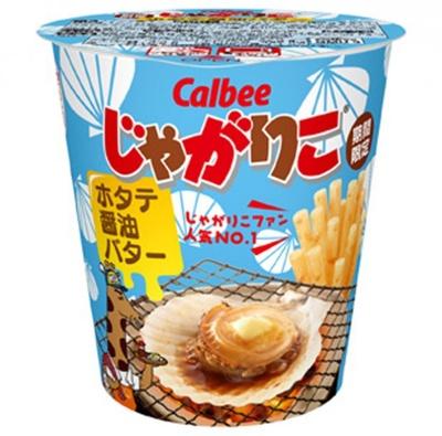 人気投票No.1「じゃがりこ ホタテ醤油バター」3月11日(月)より期間限定発売