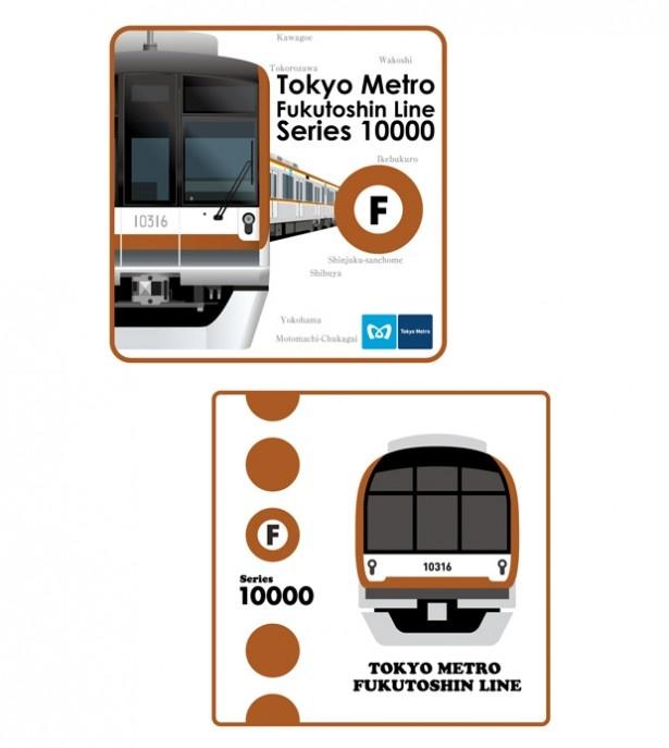 2種類のデザイン「ミニタオル」(各500円)