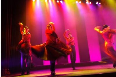 新ショー「フラメンコライフ」。迫力のダンス!