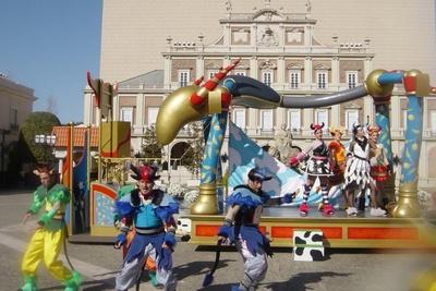 新ショー「エルシエロ!」。牛追い祭をモチーフにした楽しいショー!