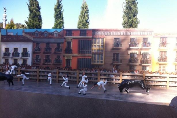 「フェリスクルーズ」にはスペインの風景がミニチュアで再現!