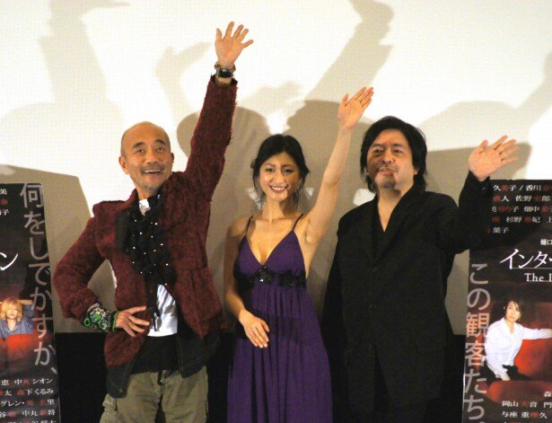 トークショーに登場した竹中直人、壇蜜、樋口尚文監督(写真左から)