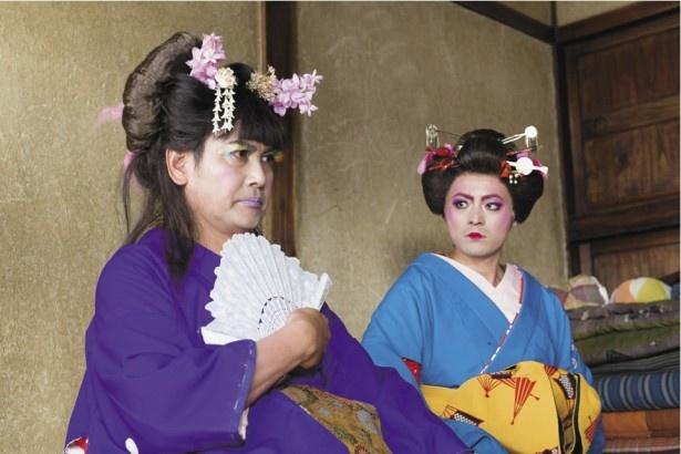 続編の第3話で話題となったヨシヒコとダンジョーの女装姿