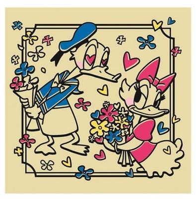 イラストが可愛らしい「ドナルド&デイジー」
