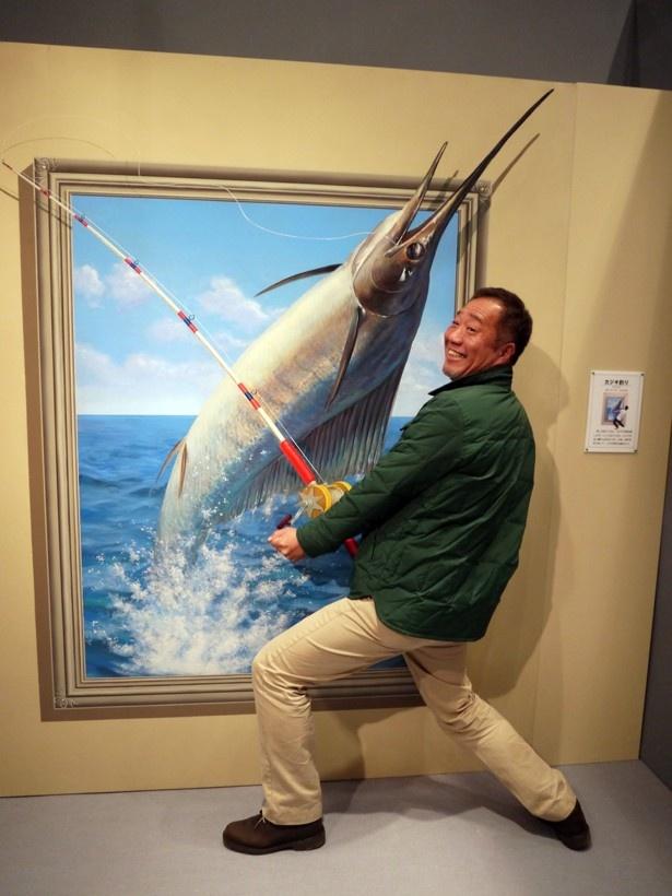 一本釣りも体験できる!?