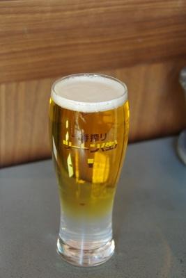 ライチリキュールのフルーティーな香りと甘さがビールにマッチ