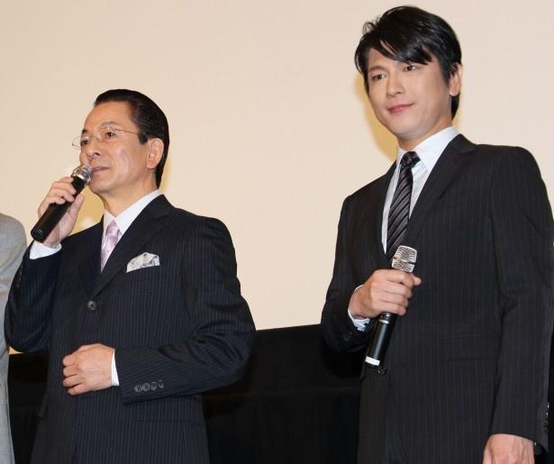 【写真を見る】水谷豊と及川光博の相棒コンビが丁々発止のやり取りで会場を爆笑の渦に!