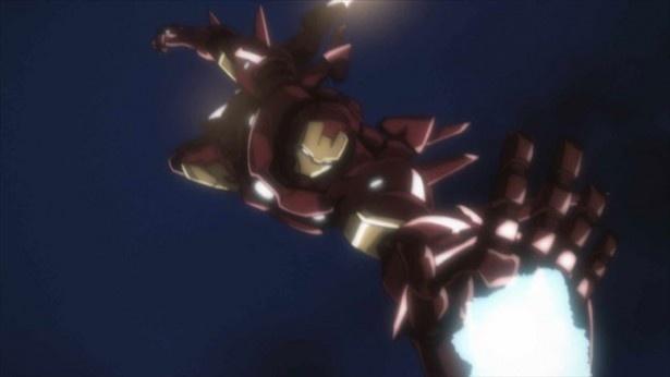 『アイアンマン3』(4月26日公開)も楽しみだが、アニメ版にも注目!