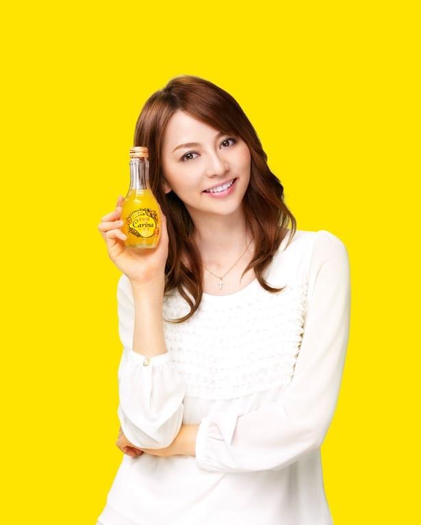 【写真を見る】広告タレントは、人気のモデル・女優の香里奈