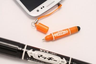 細字側はタッチペンとしても使えるすぐれもの