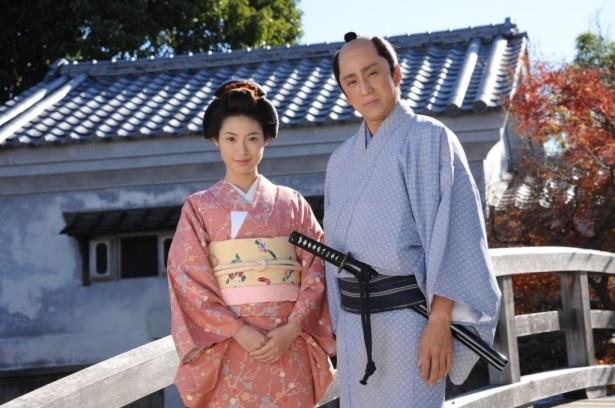 ストーリーは織江(瀧本)と彦馬(市川染五郎)の恋の行方を描く