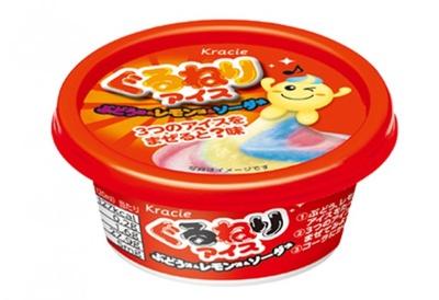 不思議なアイス「ぐるねりアイス」(126円)