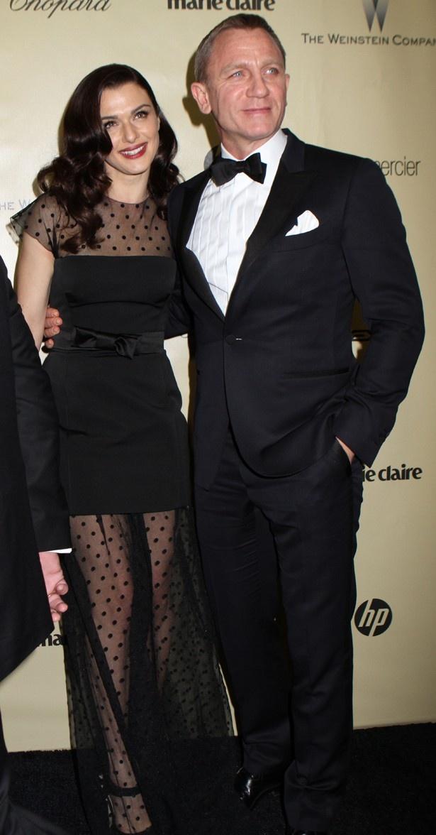 【写真を見る】2011年に結婚し、おしどり夫婦として知られているダニエルとレイチェル