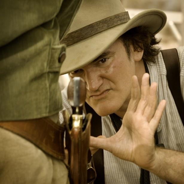 【写真を見る】近年の映画監督でカメオ出演と言えばこの人、といっても過言ではないクエンティン・タランティーノ監督
