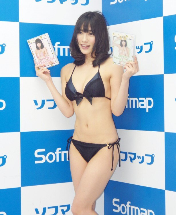 Fカップの黒髪美人グラドル、今野杏奈さんの冠番組がDVDに!