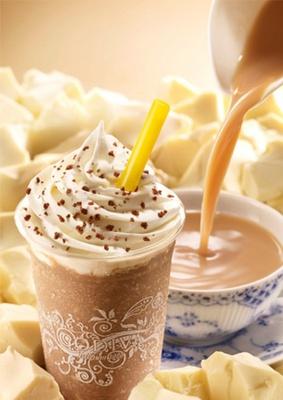 世界三大紅茶ウバ茶を贅沢に使用した「ショコリキサー ホワイトチョコレート ロイヤルミルクティー」
