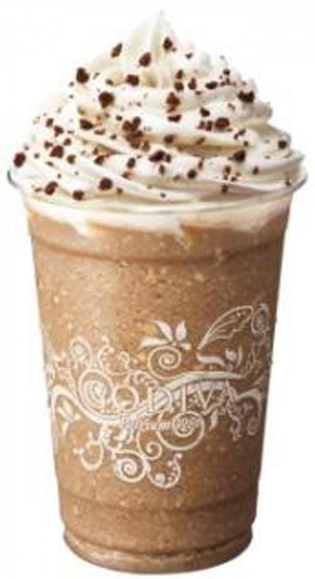 「ショコリキサー ホワイトチョコレート ロイヤルミルクティー」はゴディバ限定店舗で販売