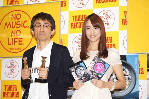 トークショーで小競り合いを繰り広げ、仲の良さを垣間見せた吉田大八監督と山本(写真左から)