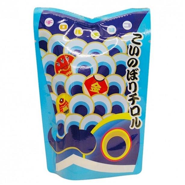 「こいのぼりチロル」(105円)青色