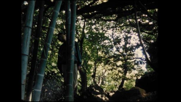 """【写真を見る】こちらがうすた京介が演じる""""竹男""""。彼の作品にも通じるシュールなキャラクターだ(『鎌倉物語・黒い桜』)"""