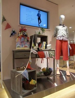 雑貨屋風の内装でショッピングがより楽しめそう!