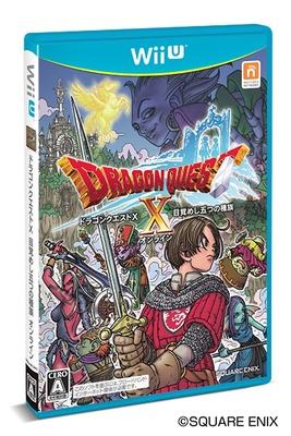 WiiU版「ドラゴンクエストX 目覚めし五つの種族 オンライン」は3月30日(土)発売