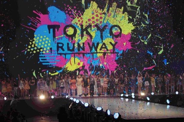 3月20日に行われた「東京ランウェイ 2013 S/S」