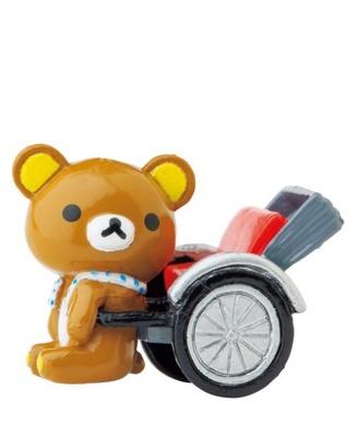 ラブリー度MAX!関東・東京限定の「人力車でだららん」(525円)