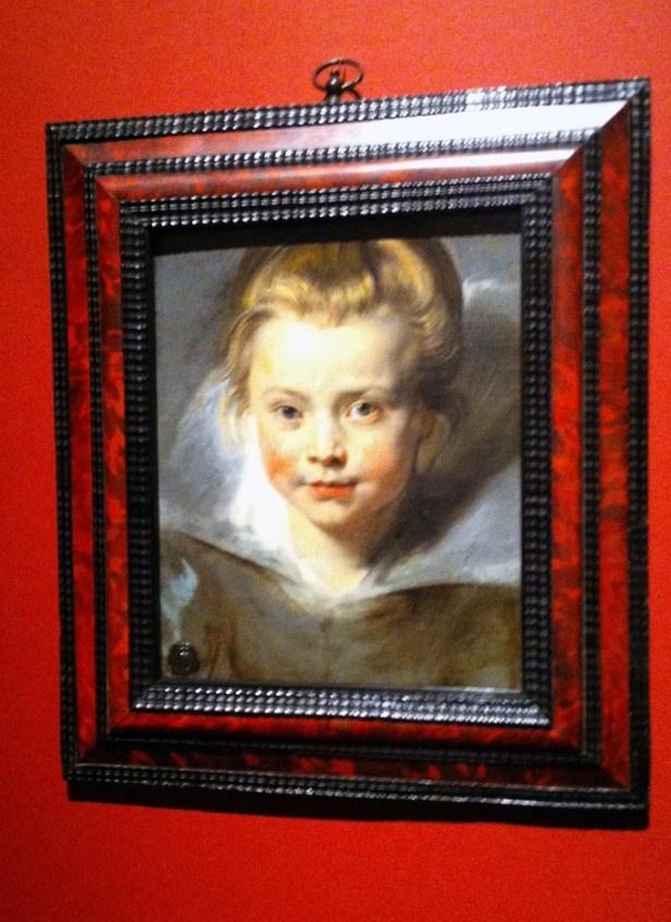 ルーベンス作品のコレクションが秀逸!写真はペーテル・パウル・ルーベンス「クララ・セレーナ・ルーベンスの肖像」1616年ごろ