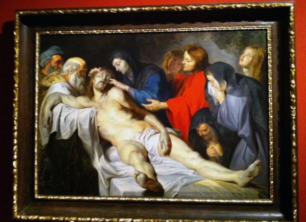 ペーテル・パウル・ルーベンス「キリスト哀悼」1612年頃