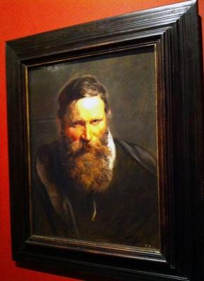 ペーテル・パウル・ルーベンス「ひげのある男」1612年頃