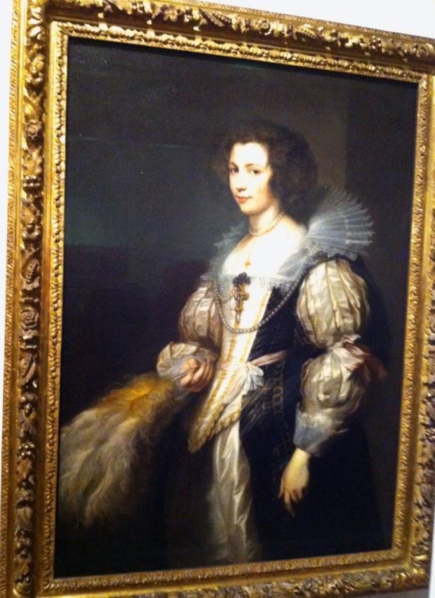 アンソニー・ヴァン・ダイク「マリア・デ・タシスの肖像」1629/30年頃