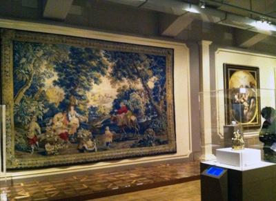 特別展「リヒテンシュタイン展 華麗なる侯爵家の秘宝」ではタペストリーなどの工芸品も多数展示!