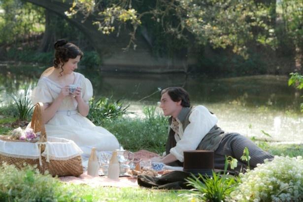 運命の女性メアリーと出会い恋に落ちるリンカーン