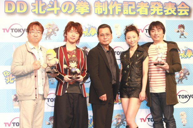 制作発表会見には大地丙太郎監督や声優陣も出席した