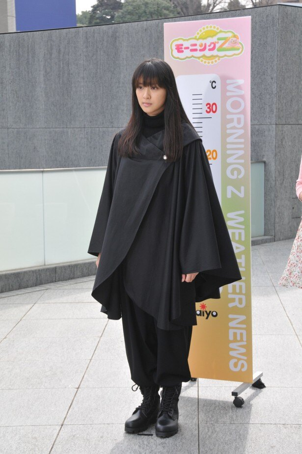 【写真】こんなお天気キャスターはイヤ!? 武井咲が「お天気お姉さん」で無愛想に!