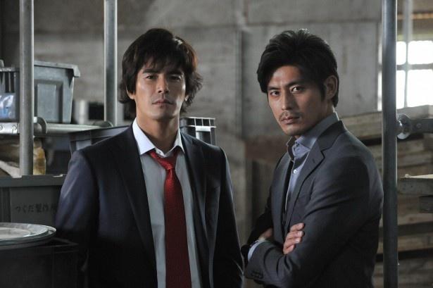 伊藤英明と坂口憲二がW主演を務める「ダブルス~二人の刑事」がいよいよ始動!