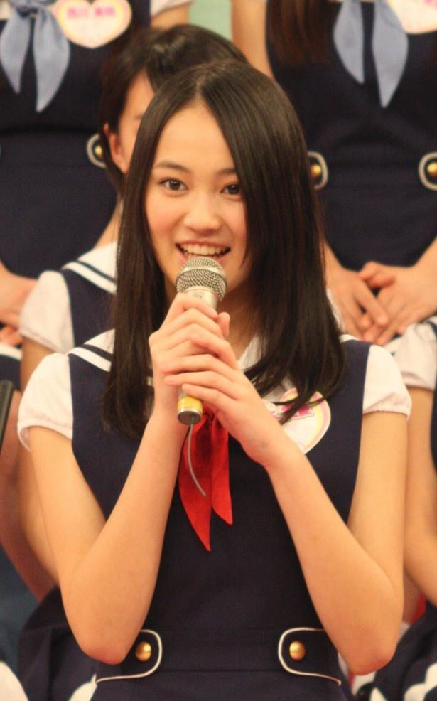 "X21のリーダー・吉本実憂は「武井咲さんから""おじもと""とニックネームをつけていただきました!」"
