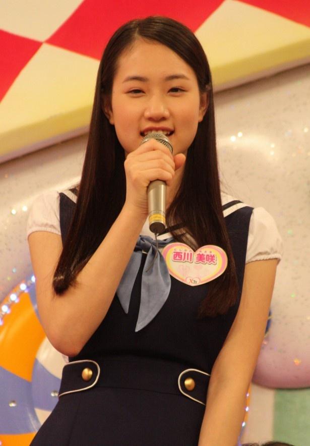 """西川美咲は、「私はイタリアが好きということで、武井咲さんに""""ミサキーニ""""というあだ名をいただきました!」"""