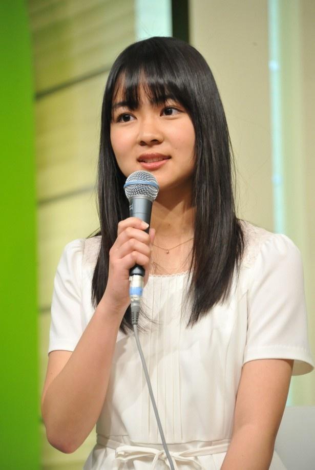 【写真】東大生の磯貝初奈がお天気キャスターに大抜擢