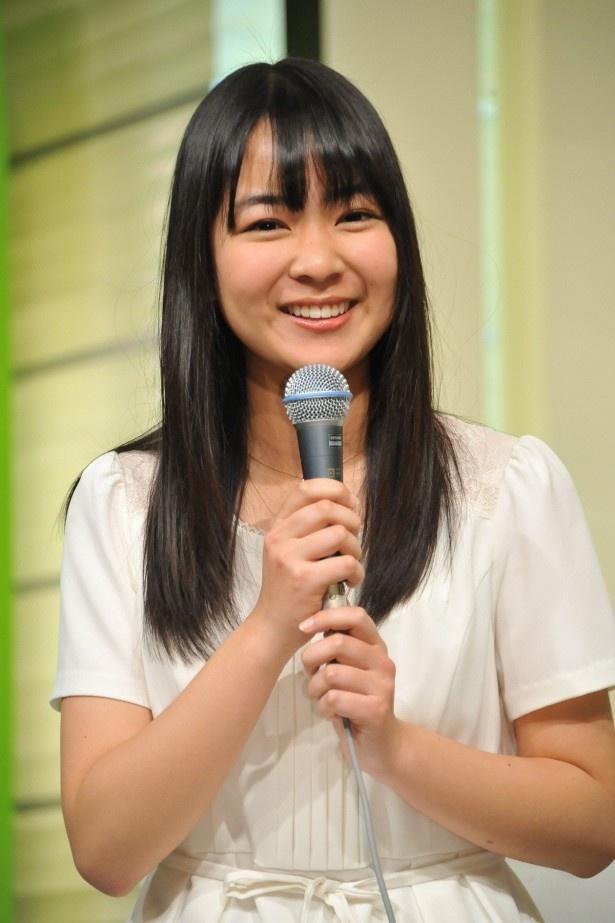 磯貝は村尾アナから「いつも通りで」と優しい言葉をかけられたことを明かし、笑顔に