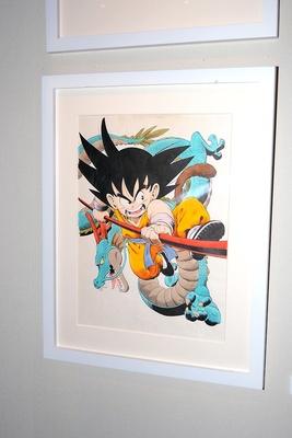 少年時代の原画も多数展示