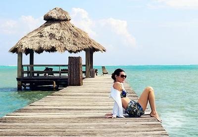 カリブ海の人気スポット「アンバーグリス キー/ベリーズ」