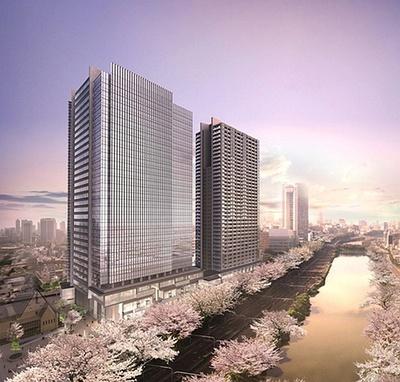 2014年10月グランドオープン!「飯田橋サクラパーク」は桜と外濠を臨む豊かな自然あふれる街に※画像はイメージ