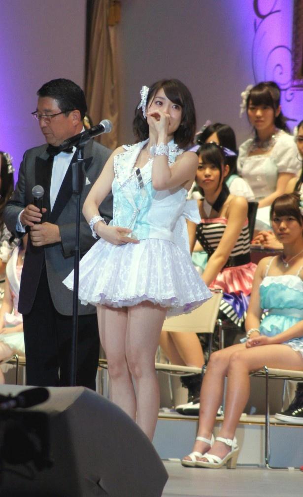 前回、第一位に輝いた大島優子(写真は「第4回AKB48選抜総選挙」のもの)